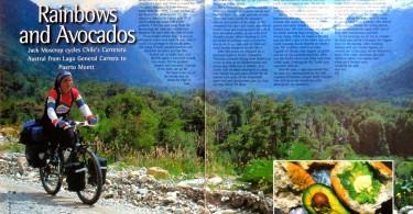 bike touring, carretera austral, adventure travel writer, jack moscrop