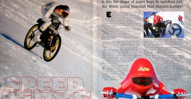 downhill mountain bike, speed world record, adventure travel writer, jack moscrop