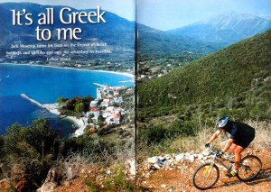 greek holidays, windsurfing, mountain biking, adventure travel writer, jack moscrop