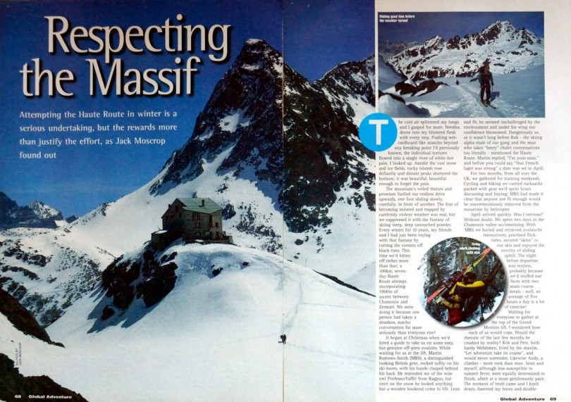 haute route, alps mountaineering, adventure travel writer, jack moscrop