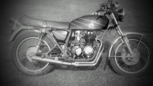 jack moscrop, travel writer, the early years, honda 400 4