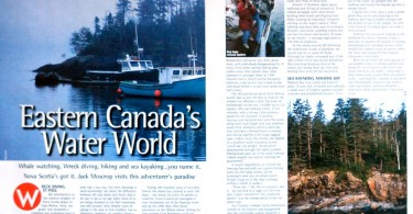kayak canada, dulse, seaweed nutrition, adventure travel writer, jack moscrop