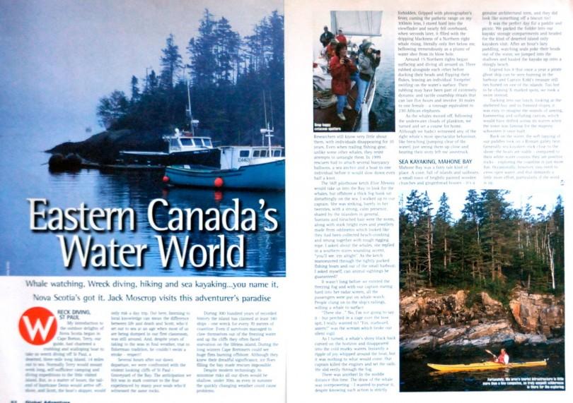 kayak canada, dulse, seaweed nutrition, adventure travel writer, jack moscrop