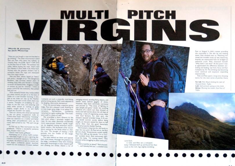uk climbing, grooved arête, tryfan, adventure travel writer, jack moscrop